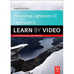 Peachpit Press DVD: Adobe Photoshop Lightroom CC (2015 release) / Lightroom 6 Learn by Video