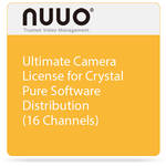 NUUO Ultimate Camera License for Crystal Pure Software Distribution (16 Channels)