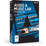 MAGIX Entertainment Audio & Music Lab Premium - Music Production Software (100+ Tier Site-License, Download)