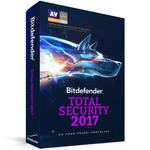 Bitdefender Total Security 2017 (5 Users, 1-Year License, Download)
