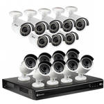 Swann 16-Channel 4MP NVR with 3TB HDD and 16 4MP Outdoor Night Vision Bullet Cameras