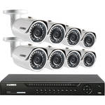 Lorex by FLIR 16-Channel 8MP NVR with 3TB HDD and 8 4MP Outdoor CNV & Night Vision Bullet Cameras