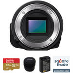 Sony ILCE-QX1 Mirrorless Lens-Style Digital Camera Deluxe Kit