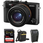 Sony Cyber-shot RX1R II Digital Camera with Free Accessory Kit