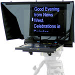 "Autocue/QTV 17"" Teleprompter for PTZ Cameras"