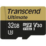 Transcend 32GB Ultimate UHS-I microSDHC Memory Card (Class 10)
