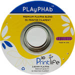 3D Printlife PLAyPHAb 2.85mm PLA/PHA Filament (Purple)