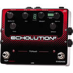 Pigtronix Echolution 2 Pedal with 18 VDC Power Supply