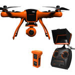 "Wingsland Scarlet Minivet Quadcopter with 12MP Flight Camera and 5"" Display"