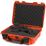 Nanuk 923 Protective Case with Cubed Foam (Orange)
