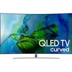 "Samsung Q8C-Series 55""-Class HDR UHD Smart Curved QLED TV"