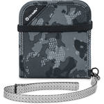Pacsafe RFIDsafe V100 RFID Blocking Bi-Fold Wallet (Gray Camo)