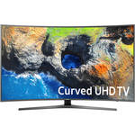 "Samsung MU7500-Series 49""-Class HDR UHD Smart Curved LED TV"