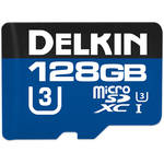 Delkin Devices 128GB 660x microSDXC UHS-I Memory Card with SD Adapter