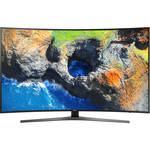 "Samsung MU7500-Series 55""-Class HDR UHD Smart Curved LED TV"