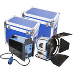 CAME-TV 2500W HMI Fresnel Light Kit with Electronic Ballast