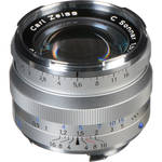 Zeiss C Sonnar T* 50mm f/1.5 ZM Lens (Silver)
