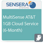 Sensera MultiSense AT&T 1GB Cloud Service (6-Month)