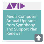 Avid Technologies Media Composer Annual Upgrade and Support Plan Renewal From Symphony