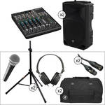"Mackie 1000W 15"" Powered Loudspeaker Advanced PA Kit"