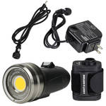 Light & Motion SOLA Video 3800 F LED Dive Light with Battery Pack Kit (Black)