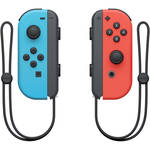 Nintendo Joy-Con Controllers (Neon Red/Blue)