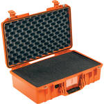 Pelican 1525Air Carry-On Case (Orange, with Pick-N-Pluck Foam)