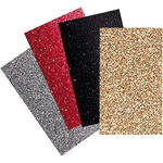 "Brother Iron-On Transfer Glitter Sheets for ScanNCut Machines (Basic Colors, 4-pieces, 8.5x11"")"