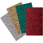 "Brother Iron-On Transfer Glitter Sheets for ScanNCut Machines (Holiday Colors, 8.5x11"")"