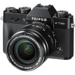 Fujifilm X-T20 Mirrorless Digital Camera with 18-55mm Lens (Black)