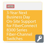 ATTO Technology Next Business Day On-Site Support for FibreConnect 8300-Series Fiber-Channel Switches (3-Year)
