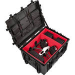 Explorer Cases Heavy-Duty Hard Case with Adjustable Padded Interior for DJI Inspire 1/2 or Similar Professional Video Drone Kit