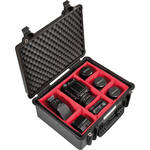 Explorer Cases Medium Hard Case 4820 with Divider Kit (Black)