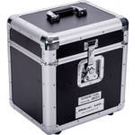 DeeJay LED Fly Drive LP Record Case For 80 LP Records (Black)