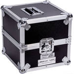 DeeJay LED Medium Duty Deluxe LP Record Case (Up to 80 Records)