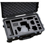 "Jason Cases Hard Travel Case for RED EPIC/SCARLET with 7"" Touch LCD & MINI-MAG Card"