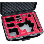 Jason Cases Protective Case for Sony a7S Camera with Tilta Cage (Red Overlay)
