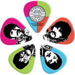 D'Addario 1CWH-410B6 Sgt. Pepper's Lonely Hearts Club Band 50th Anniversary Guitar Picks (Medium, 10-Pack)