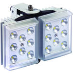 Raytec RAYLUX 50 High-Power PoE White-Light LED Illuminator with Integrated PSU (120°, Silver)