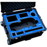 Jason Cases Protective Case for Canon 50-1000mm Lens (Blue Overlay)