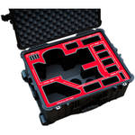 Jason Cases Hard Case for Sony PMW-300 Camera Kit (Red Overlay)