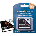 Sound Devices SAM-32CF 32GB UDMA-7 Compact Flash Card