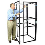 The Screen Works E-Z Fold Equipment Tower - Frame and Case