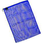 "Innovative Scuba Concepts Econo Mesh Drawstring Bag with D-Ring (Large, 24 x 36"", Blue)"