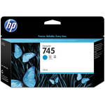 HP 745 DesignJet Cyan Ink Cartridge (130mL)