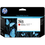 HP 745 DesignJet Chromatic Red Ink Cartridge (130mL)