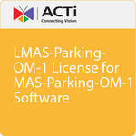 ACTi LMAS-Parking-OM-1 License Plate Recognition Software (1 License)