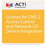 ACTi License for CMS 2 Access Control and Network I/O Device Integration