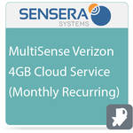 Sensera MultiSense Verizon 4GB Cloud Service (Monthly Recurring)