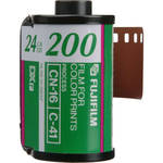 FUJIFILM Fujicolor 200 Color Negative Film (35mm Roll Film, 24 Exposures, 4 Pack)